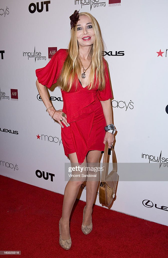 Actress Lorielle New attends OUT magazine's celebration of LA fashion week with OUT fashion benefiting the AIDS Healthcare Foundation at Pacific Design Center on March 7, 2013 in West Hollywood, California.