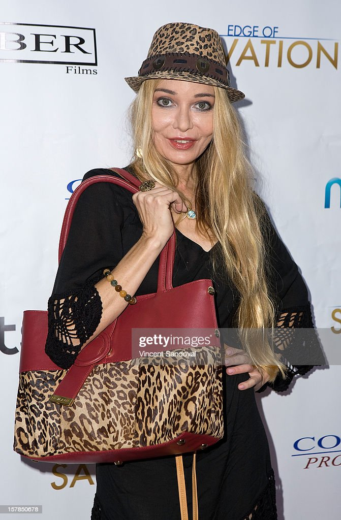 Actress Lorielle New attends the Premiere Of 'Edge Of Salvation' at ArcLight Cinemas on December 6, 2012 in Hollywood, California.