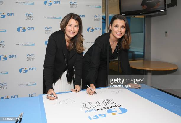 Actress Lorraine Bracco and Bridget Moynahan attend Annual Charity Day hosted by Cantor Fitzgerald BGC and GFI at GFI Securities on September 11 2017...