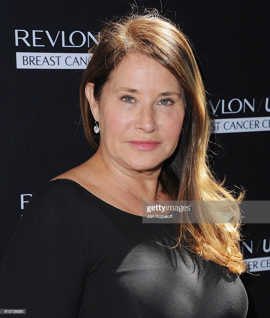 Actress Lorraine Bracco arrives at Revlon's Annual Philanthropic Luncheon at Chateau Marmont on September 27, 2016 in Los Angeles, California.