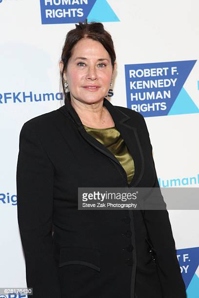 Actress Lorraine Bracco attends 2016 Robert F Kennedy Human Rights' Ripple of Hope Awards at New York Hilton Midtown on December 6 2016 in New York...