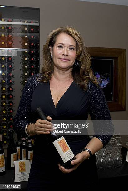 Actress Lorraine Bracco attends a wine tasting at Chima Brazilian Steakhouse on June 11 2008 in Philadelphia Pennsylvania