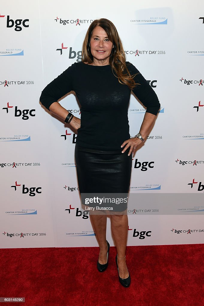 Actress Lorraine Bracco attends Annual Charity Day hosted by Cantor Fitzgerald, BGC and GFI at BGC Partners, INC on September 12, 2016 in New York City.
