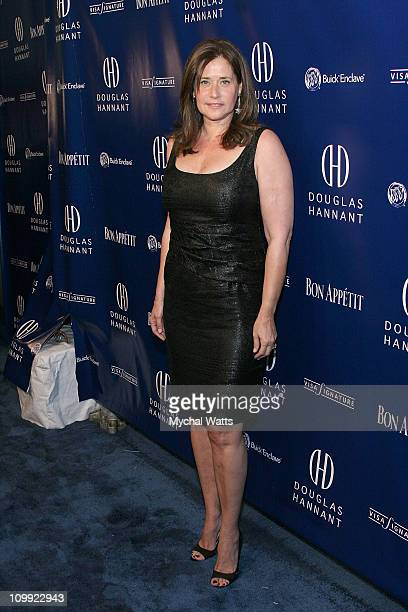 Actress Lorraine Bracco attends Douglas Hannant's 10th Year Anniversary at Bon Appetit Supper Club on October 26 2007 in New York City New York
