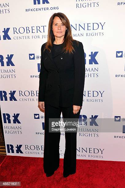 Actress Lorraine Bracco attends Robert F Kennedy Center For Justice And Human Rights 2013 Ripple Of Hope Awards Dinner at New York Hilton Midtown on...