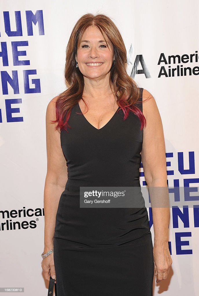 Actress Lorraine Bracco attends the Museum Of Moving Image Salute To Hugh Jackman at Cipriani Wall Street on December 11, 2012 in New York City.