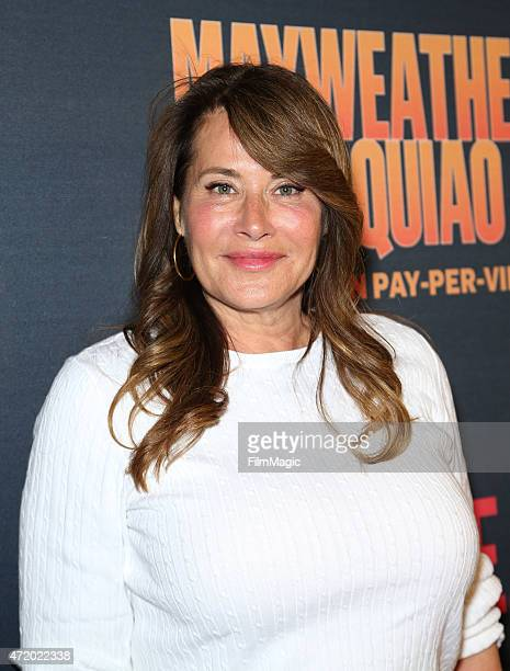 Actress Lorraine Bracco attends the SHOWTIME And HBO VIP PreFight Party for 'Mayweather VS Pacquiao'at MGM Grand Hotel Casino at on May 2 2015 in Las...