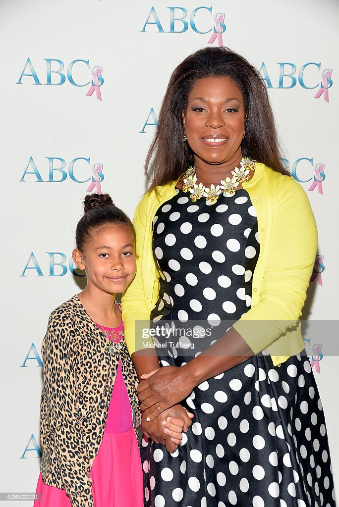 Actress <a gi-track='captionPersonalityLinkClicked' href=/galleries/search?phrase=Lorraine+Toussaint&family=editorial&specificpeople=585873 ng-click='$event.stopPropagation()'>Lorraine Toussaint</a> and daughter Samara Toussaint attend the Associates For Breast and Prostate Cancer Studies' annual Mother's Day Luncheon at Four Seasons Hotel Los Angeles at Beverly Hills on May 4, 2016 in Los Angeles, California.