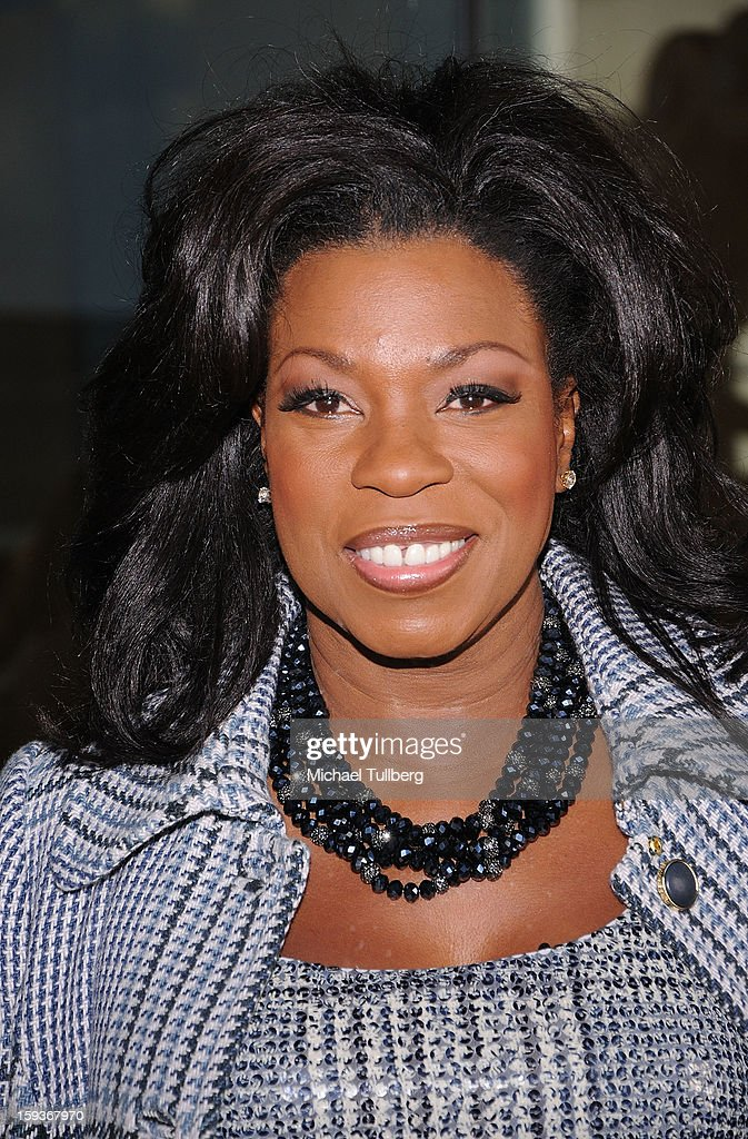 Actress Lorraine Toussaint arrives at a brunch honoring the nominees for the 2013 Film Independent Filmmaker Grant and Spirit Awards at BOA Steakhouse on January 12, 2013 in West Hollywood, California.