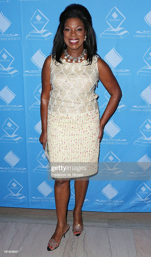 Actress Lorraine Toussaint attends the 49th Annual Cinema Audio Society Awards 'CAS' at the Millennium Biltmore Hotel on February 16, 2013 in Los Angeles, California.
