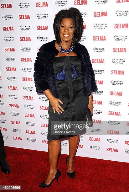 Actress Lorraine Toussaint attends the 'Selma' and the Legends Who Paved the Way gala at Bacara Resort on December 6 2014 in Goleta California