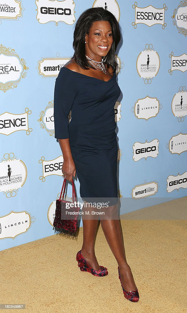 Actress Lorraine Toussaint attends the Sixth Annual ESSENCE Black Women In Hollywood Awards Luncheon at the Beverly Hills Hotel on February 21, 2013 in Beverly Hills, California.