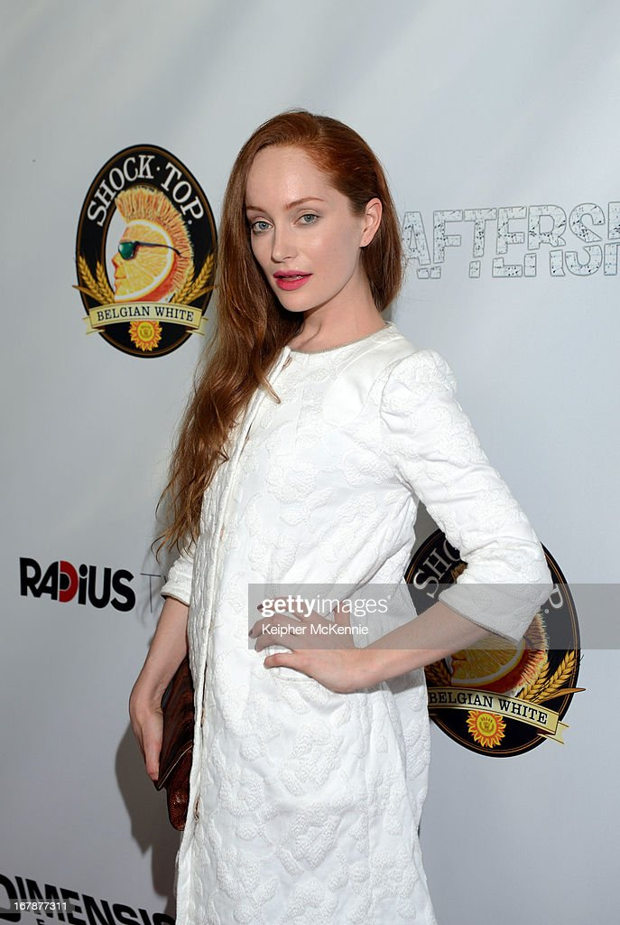 Actress Lotte Verbeek arrives for the Aftershock premiere at Mann Chinese 6 on May 1, 2013 in Los Angeles, California.