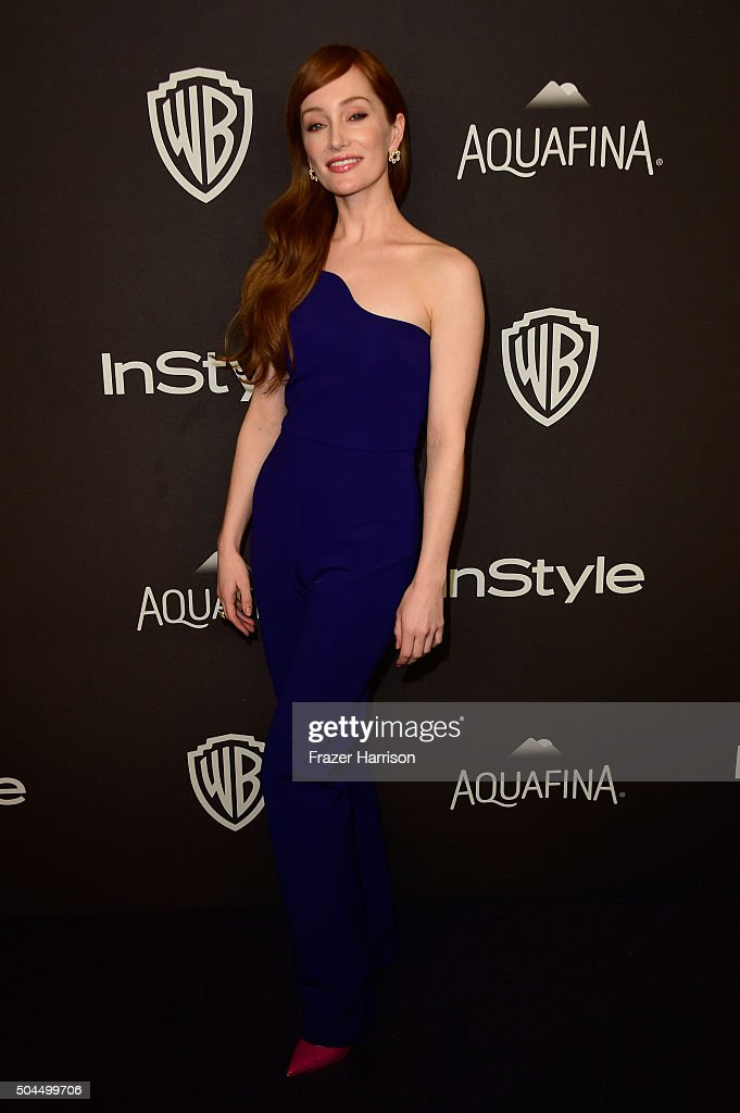 Actress Lotte Verbeek attends InStyle and Warner Bros. 73rd Annual Golden Globe Awards Post-Party at The Beverly Hilton Hotel on January 10, 2016 in Beverly Hills, California.