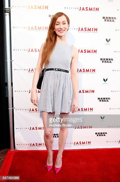 Actress Lotte Verbeek attends Meeting JASMIN Fine Art Exhibition at Ace Gallery on July 14 2016 in Los Angeles California