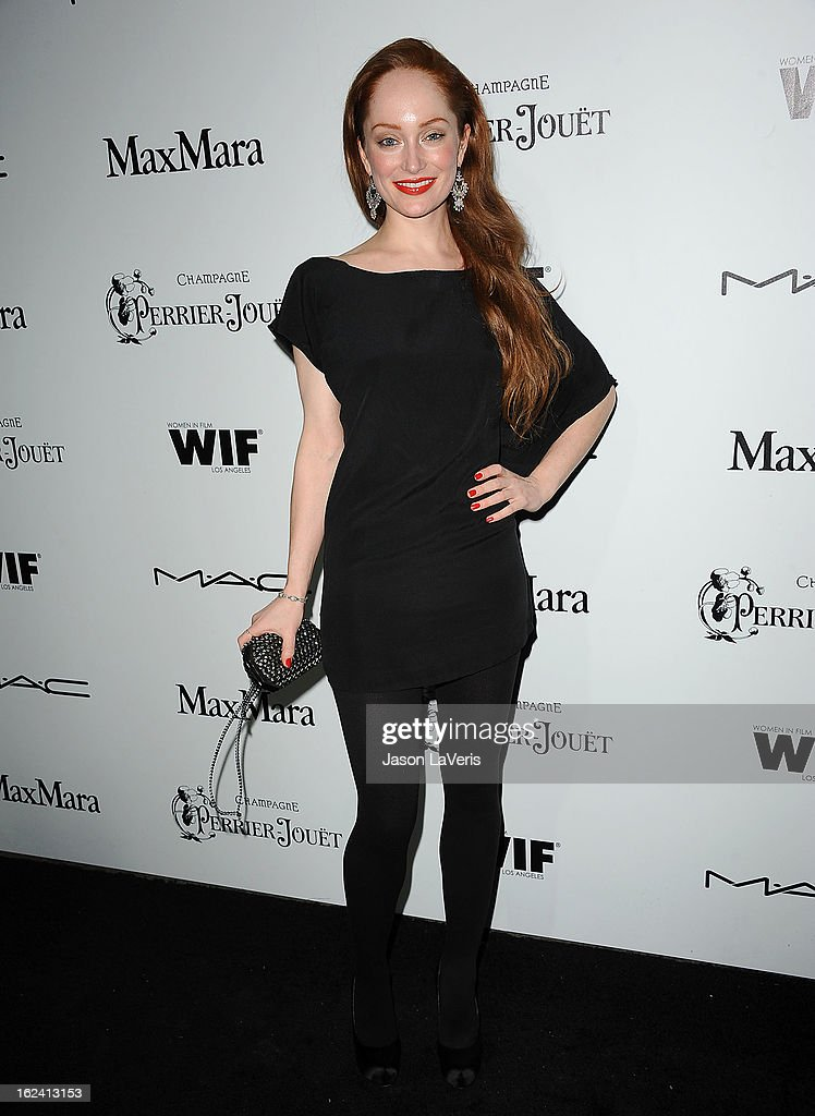 Actress Lotte Verbeek attends the 6th annual Women In Film pre-Oscar cocktail party at Fig & Olive Melrose Place on February 22, 2013 in West Hollywood, California.