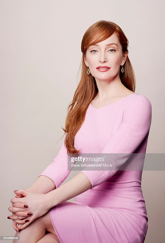 Actress Lotte Verbeek poses for a portrait at the BAFTA Los Angeles Awards Season Tea at the Four Seasons Hotel on January 9, 2016 in Los Angeles, California.
