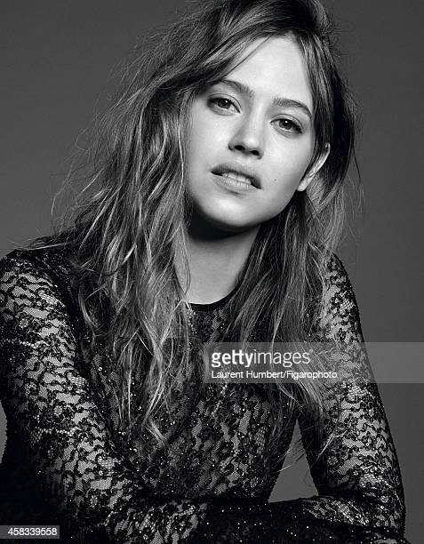 Actress Lou de Laage is photographed for Madame Figaro on September 22 2014 in Paris France Dress Makeup by Dior PUBLISHED IMAGE CREDIT MUST READ...