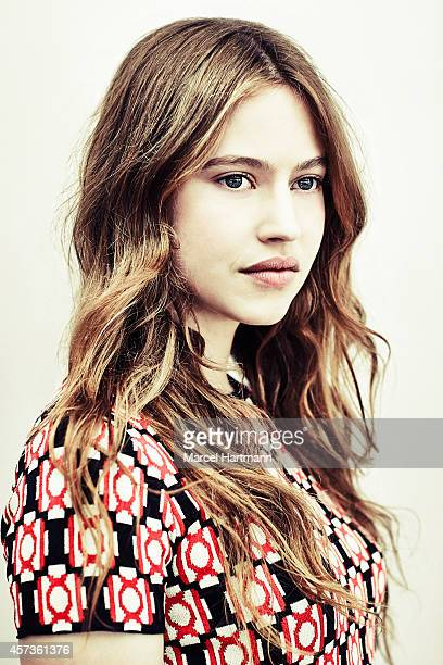 Actress Lou de Laage is photographed for Self Assignment on May 15 2014 in Cannes France