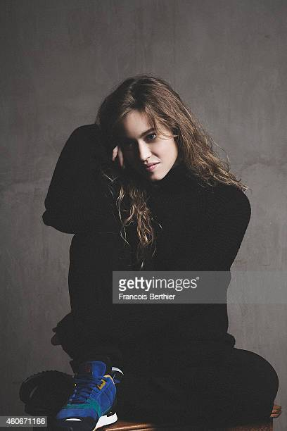 Actress Lou de Laage is photographed for Self Assignment on November 5 2014 in Paris France