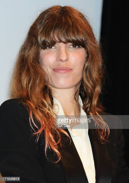 Actress Lou Doillon attends the French Film Festival 2013 at Yurakucho Asahi Hall on June 21 2013 in Tokyo Japan