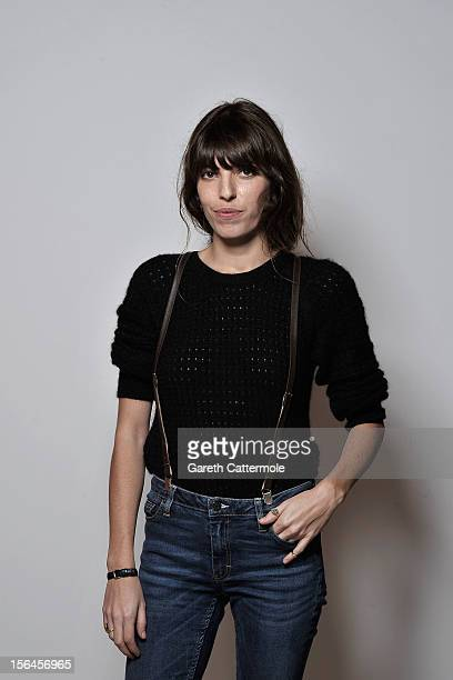 Actress Lou Doillon during a Portrait Session at the 7th Rome Film Festival at the Auditorium Parco Della Musica on November 15 2012 in Rome Italy