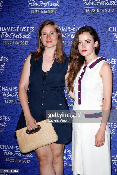Actress Lou Gala and guest attends Closing Ceremony of 6th Champs Elysees Film Festival on June 22 2017 in Paris France