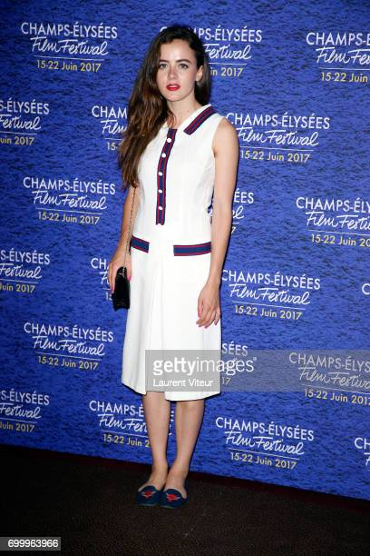 Actress Lou Gala attends Closing Ceremony of 6th Champs Elysees Film Festival on June 22 2017 in Paris France