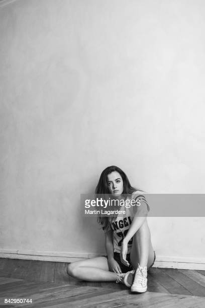 Actress Lou Gala is photographed for Self Assignment on June 29 2017 in Paris France