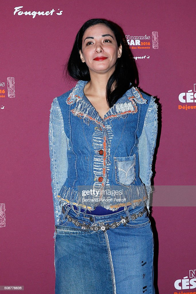 Actress Loubna Abidar attends 'Cesar 2016 Nominee Luncheon' at Le Fouquet's on February 6, 2016 in Paris, France.
