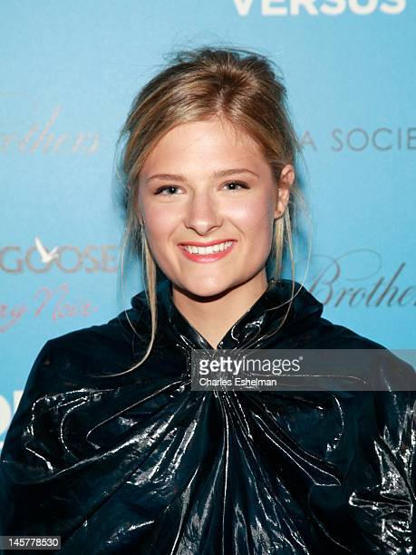 Actress Louisa Gummer attends The Cinema Society Brooks Brothers with Grey Goose screening of 'Lola Versus' at the SVA Theatre on June 5 2012 in New...