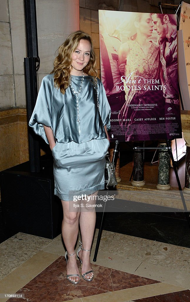 Actress Louisa Krause attends the after party for the Opening Night premiere of 'Ain't Them Bodies Saints' hosted by The Cinema Society at Skylight One Hanson on June 19, 2013 in New York City.