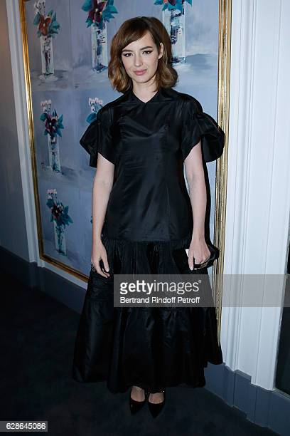 Actress Louise Bourgoin attends the Annual Charity Dinner hosted by the AEM Association Children of the World for Rwanda at Pavillon Ledoyen on...