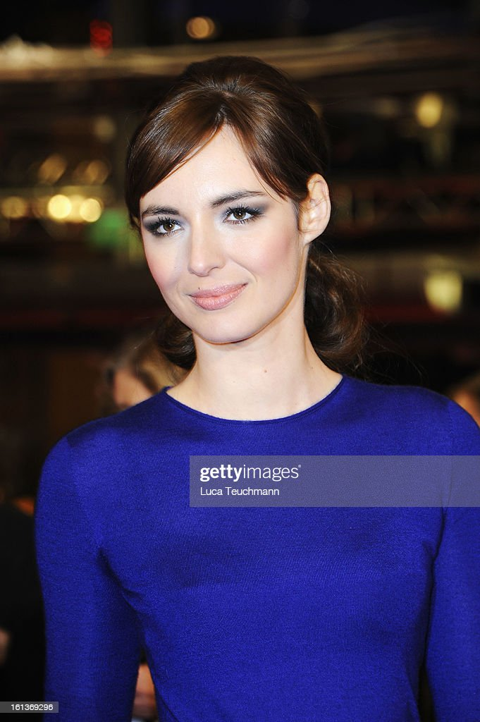 Actress <a gi-track='captionPersonalityLinkClicked' href=/galleries/search?phrase=Louise+Bourgoin&family=editorial&specificpeople=4383765 ng-click='$event.stopPropagation()'>Louise Bourgoin</a> attends 'The Nun' Premiere during the 63rd Berlinale International Film Festival at Berlinale Palast on February 10, 2013 in Berlin, Germany.