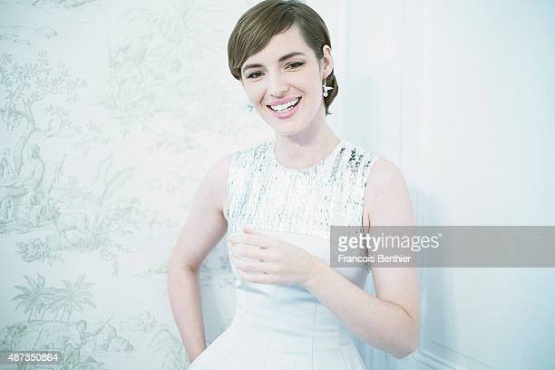 Actress Louise Bourgoin is photographed at the 41st Deauville American Film Festival on September 5 2015 in Deauville France