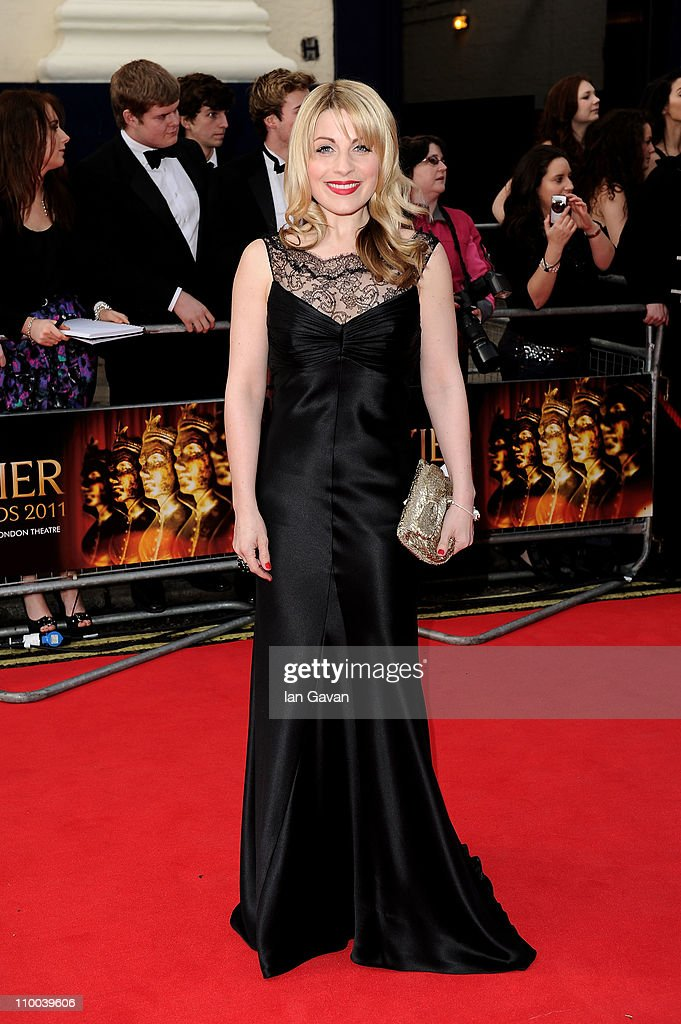 Actress Louise Dearman attends The Olivier Awards 2011 at Theatre Royal on March 13, 2011 in London, England.