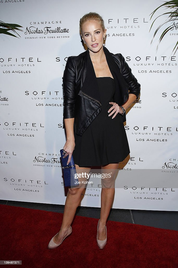 Actress Louise Linton attends the Night Of 'BB Forever: Brigitte Bardot, The Legend' at Sofitel Hotel on February 21, 2012 in Los Angeles, California.