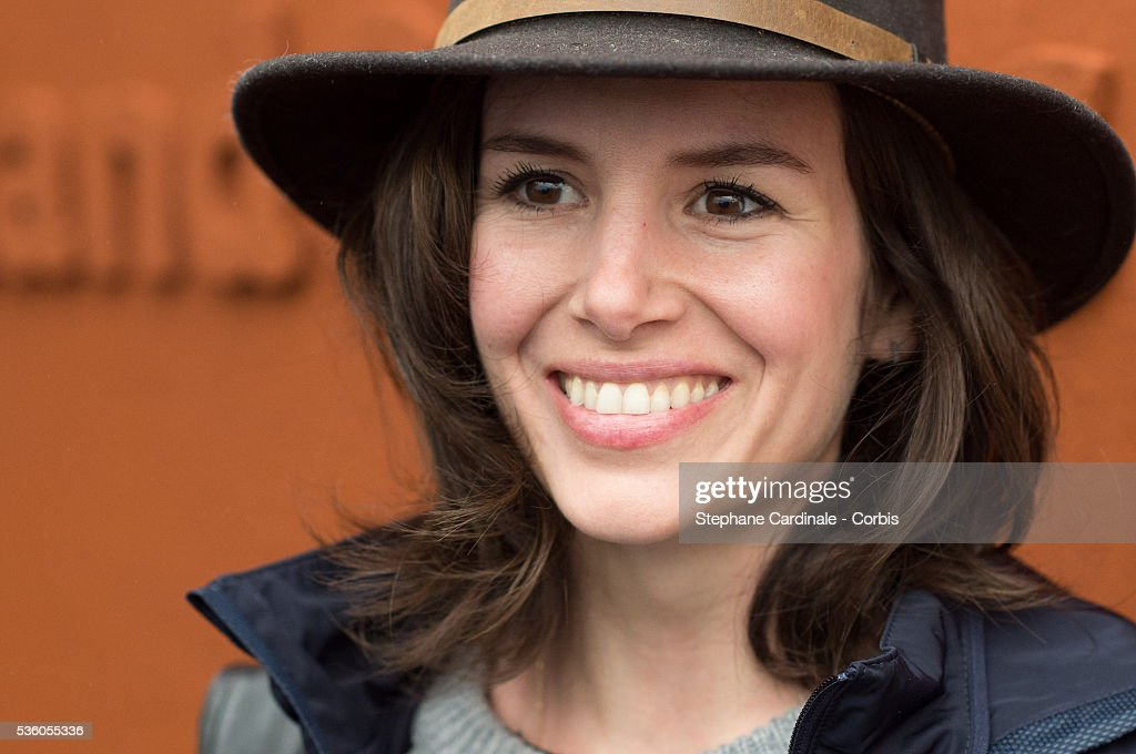 Actress Louise Monot attends day ten of the 2016 French Open at Roland Garros on May 31, 2016 in Paris, France.