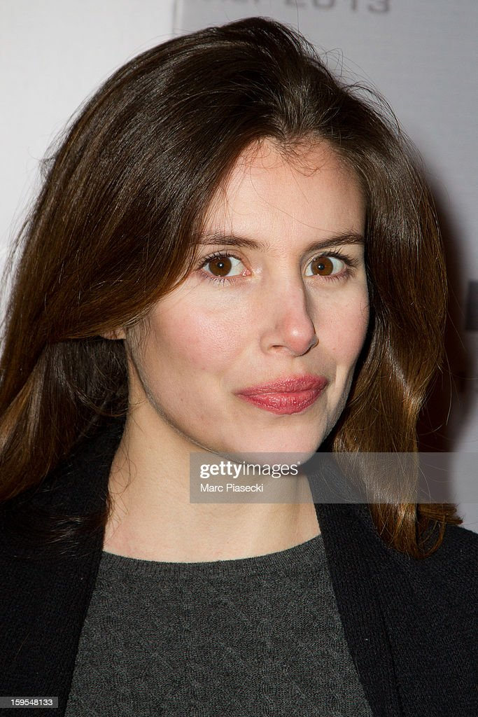 Actress Louise Monot attends the 'Flight' Paris Premiere at Cinema Gaumont Marignan on January 15, 2013 in Paris, France.