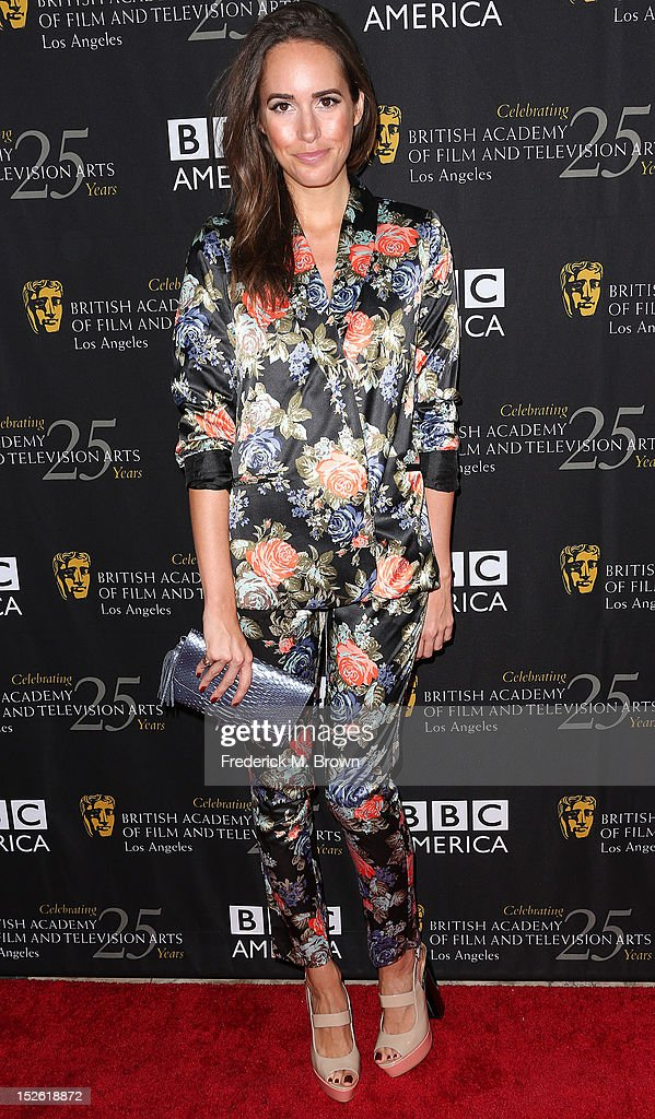 Actress Louise Roe attends BAFTA LA TV Tea 2012 Presented By BBC America at The London Hotel Hollywood on September 22, 2012 in West Hollywood, California.