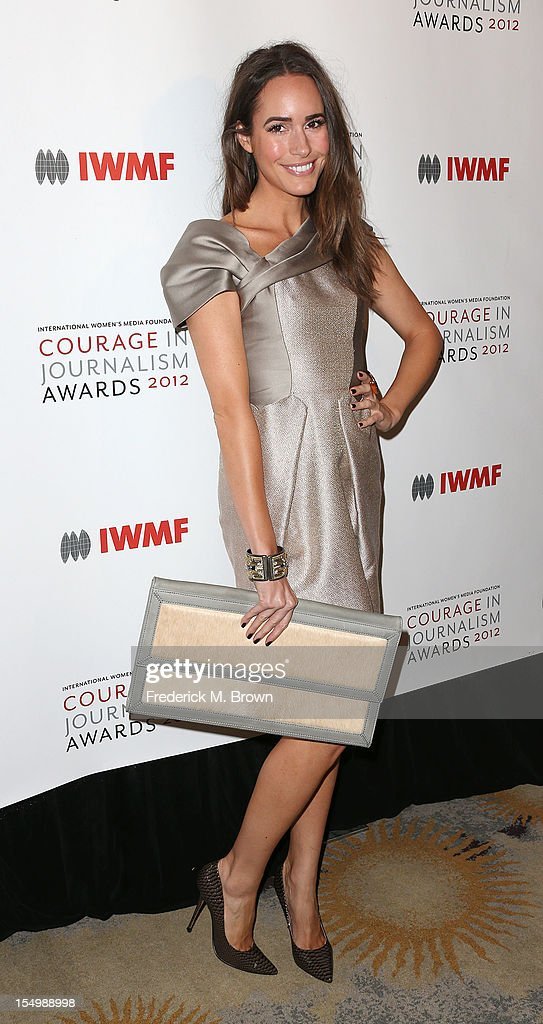 Actress Louise Roe attends the 2012 International Women's Media Foundation's Courage In Journalism Awards at The Beverly Hills Hotel on October 29, 2012 in Beverly Hills, California.
