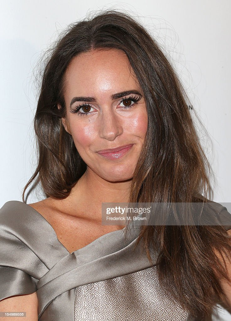 Actress <a gi-track='captionPersonalityLinkClicked' href=/galleries/search?phrase=Louise+Roe&family=editorial&specificpeople=4300958 ng-click='$event.stopPropagation()'>Louise Roe</a> attends the 2012 International Women's Media Foundation's Courage In Journalism Awards at The Beverly Hills Hotel on October 29, 2012 in Beverly Hills, California.