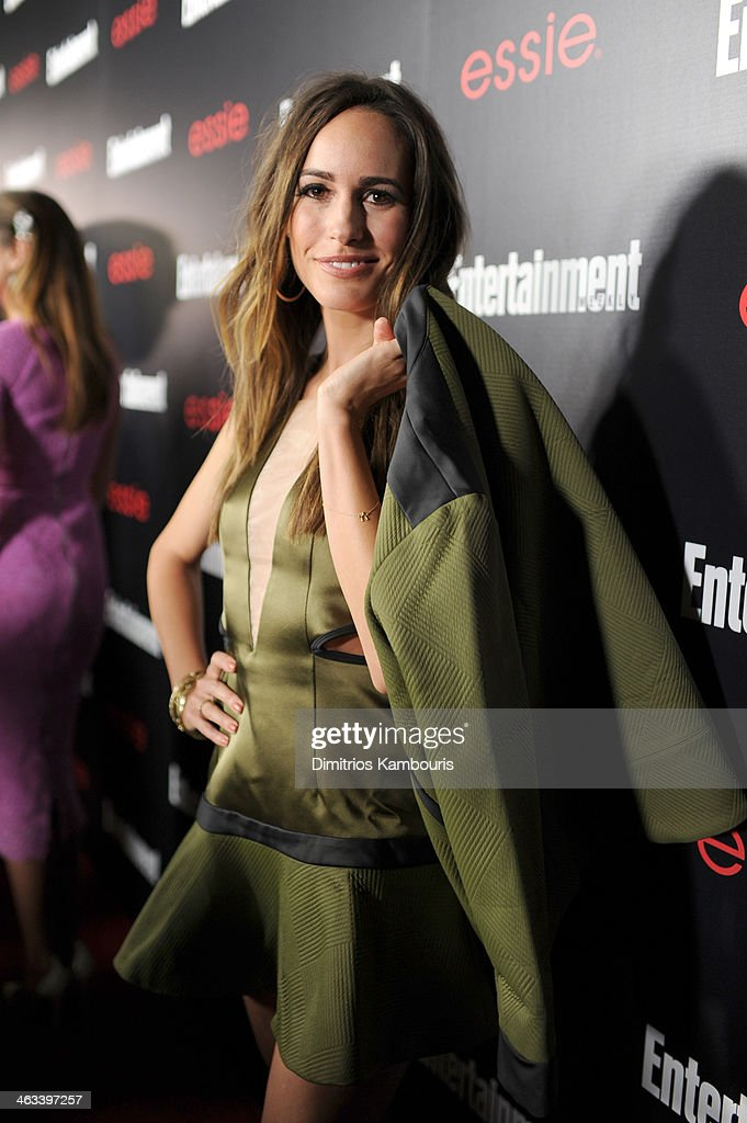 Actress <a gi-track='captionPersonalityLinkClicked' href=/galleries/search?phrase=Louise+Roe&family=editorial&specificpeople=4300958 ng-click='$event.stopPropagation()'>Louise Roe</a> attends the Entertainment Weekly celebration honoring this year's SAG Awards nominees sponsored by TNT & TBS and essie at Chateau Marmont on January 17, 2014 in Los Angeles, California.