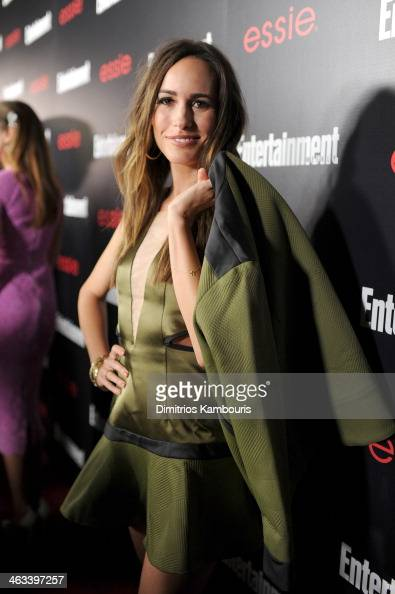 Actress Louise Roe attends the Entertainment Weekly celebration honoring this year's SAG Awards nominees sponsored by TNT TBS and essie at Chateau...