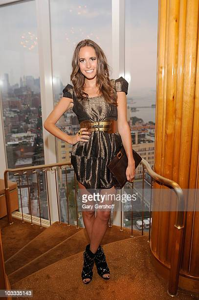 Actress Louise Roe attends the Reeve Champions Summer Party hosted by Dior Beauty and the Christopher Dana Reeve Foundation at the Boom Boom Room in...
