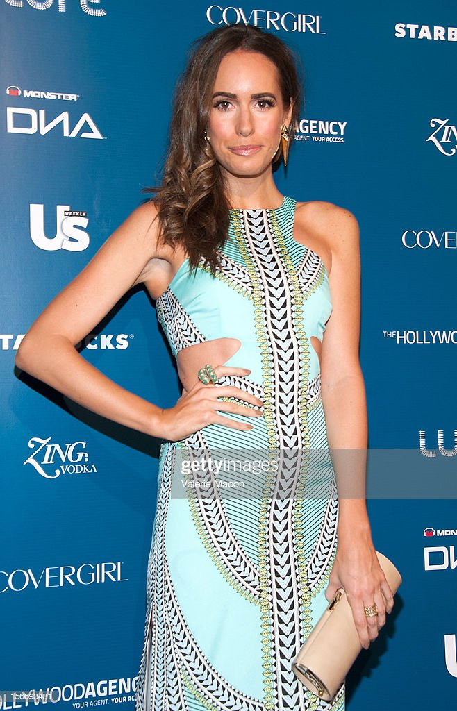 Actress Louise Roe attends the US Weekly Music Party at AV Nightclub on November 18, 2012 in Hollywood, California.