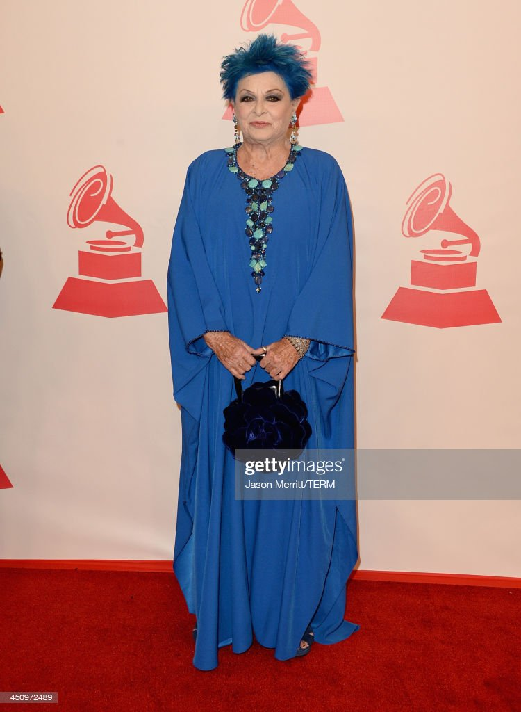 Actress Lucia Bosè arrives at the 2013 Latin Recording Academy Person Of The Year honoring Miguel Bose at the Mandalay Bay Convention Center on November 20, 2013 in Las Vegas, Nevada.