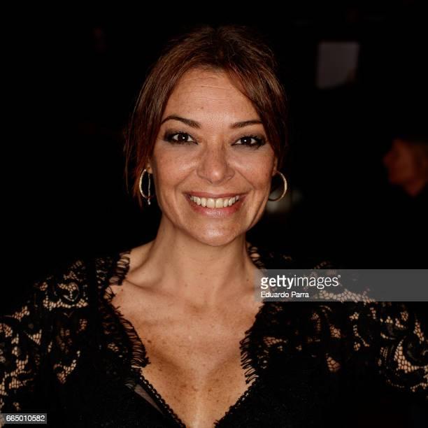 Actress Lucia Hoyos attends the 'El Pelotari y la Fallera' premiere at Callao cinema on April 5 2017 in Madrid Spain