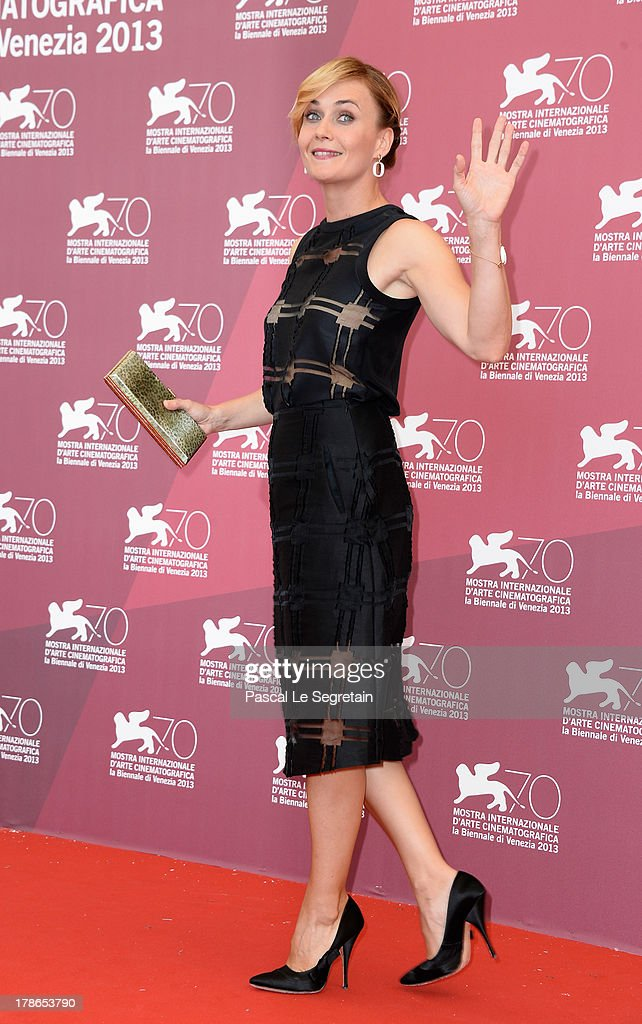 Actress Lucia Mascino attend the 'Piccola Patria' Photocall during The 70th Venice International Film Festival at Palazzo Del Casino on August 30, 2013 in Venice, Italy.