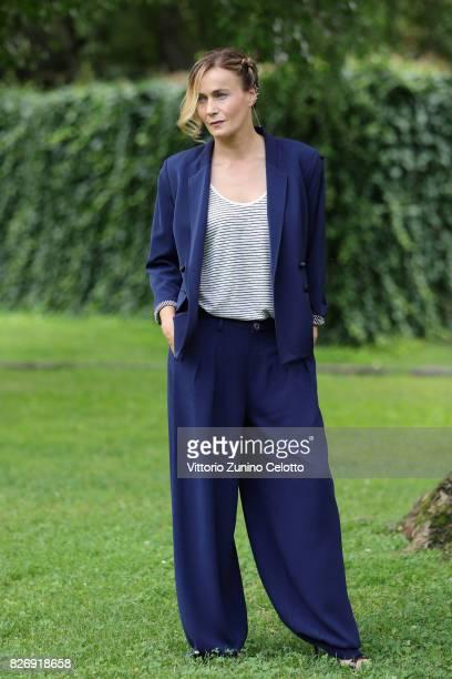 Actress Lucia Mascino attends 'Amori che non sanno stare al mondo' photocall during the 70th Locarno Film Festival on August 6 2017 in Locarno...